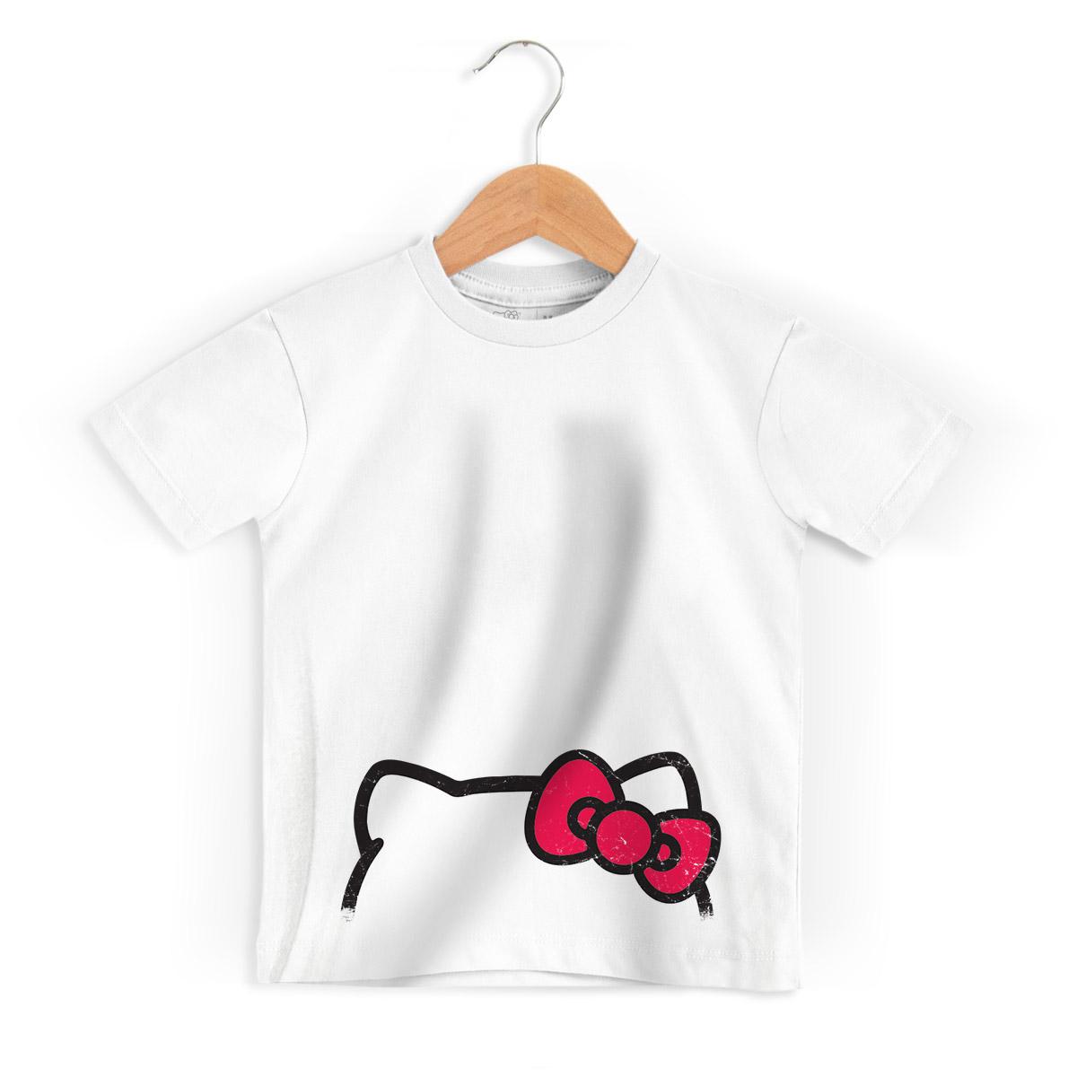 Camiseta Infantil Hello Kitty Ribbons 2