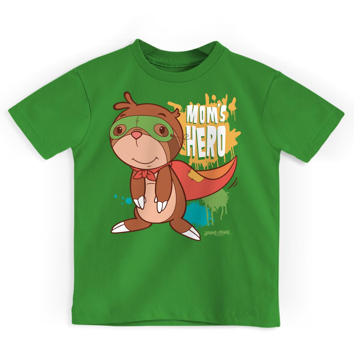 Camiseta Infantil Jaime Junior Mom´s Hero