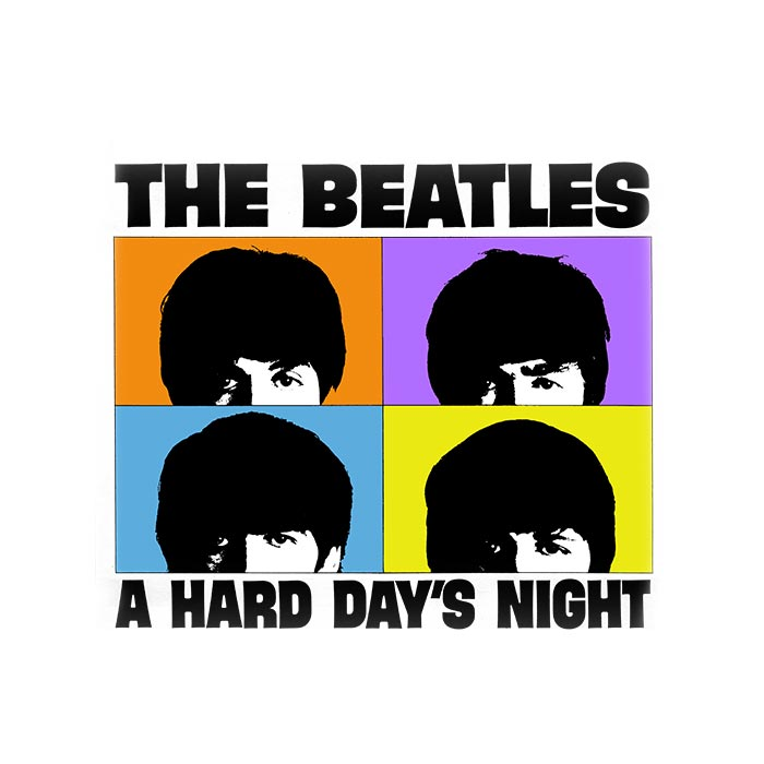 Camiseta Infantil The Beatles A Hard Day´s Night 2
