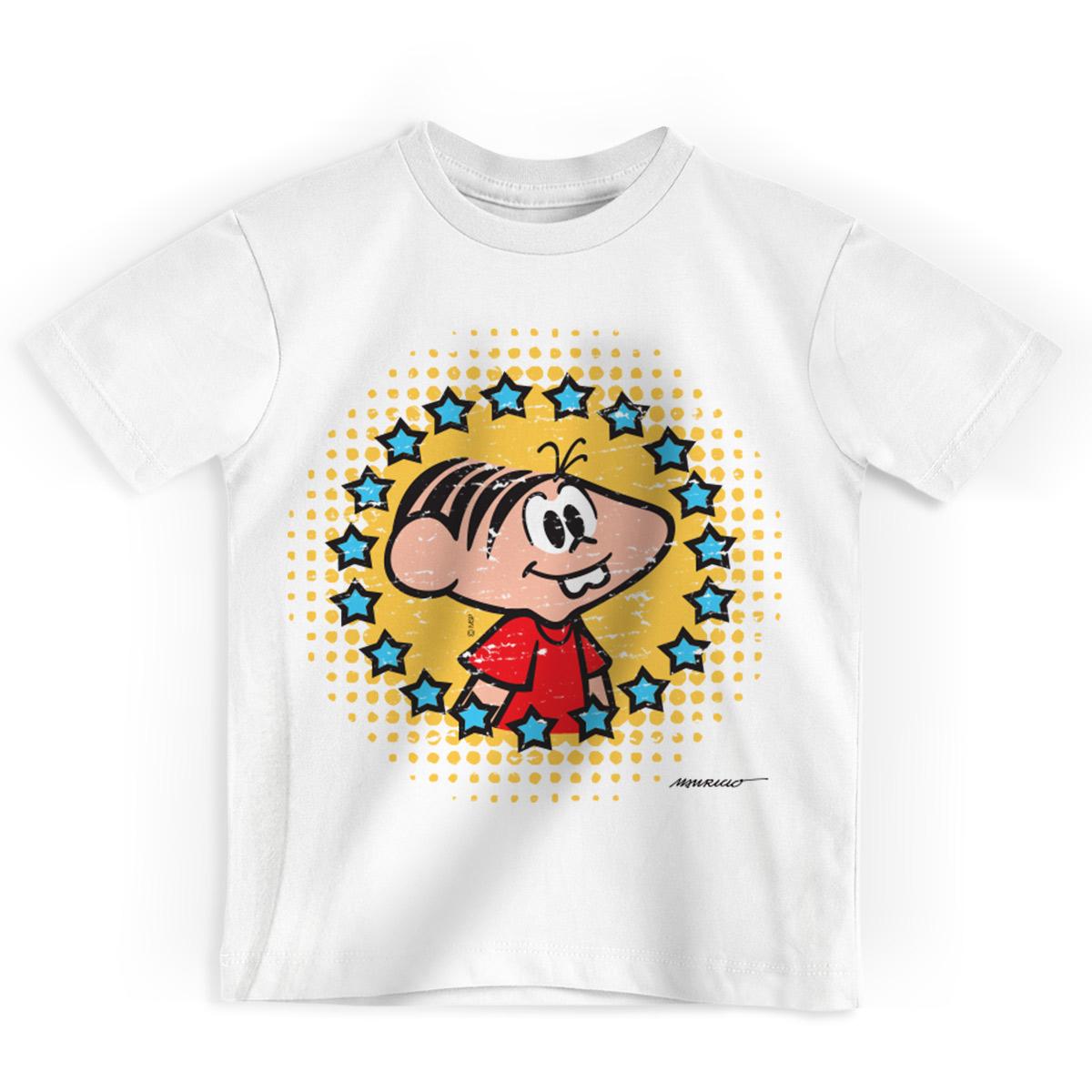 Camiseta Infantil Turma da Mônica 50 Anos Evolução Modelo 5