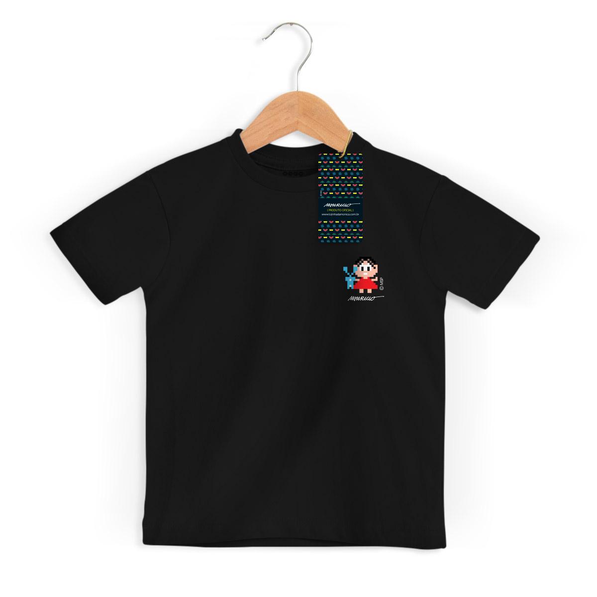 Camiseta Infantil Turma da Mônica 50 Anos Modelo 1 Anos 80