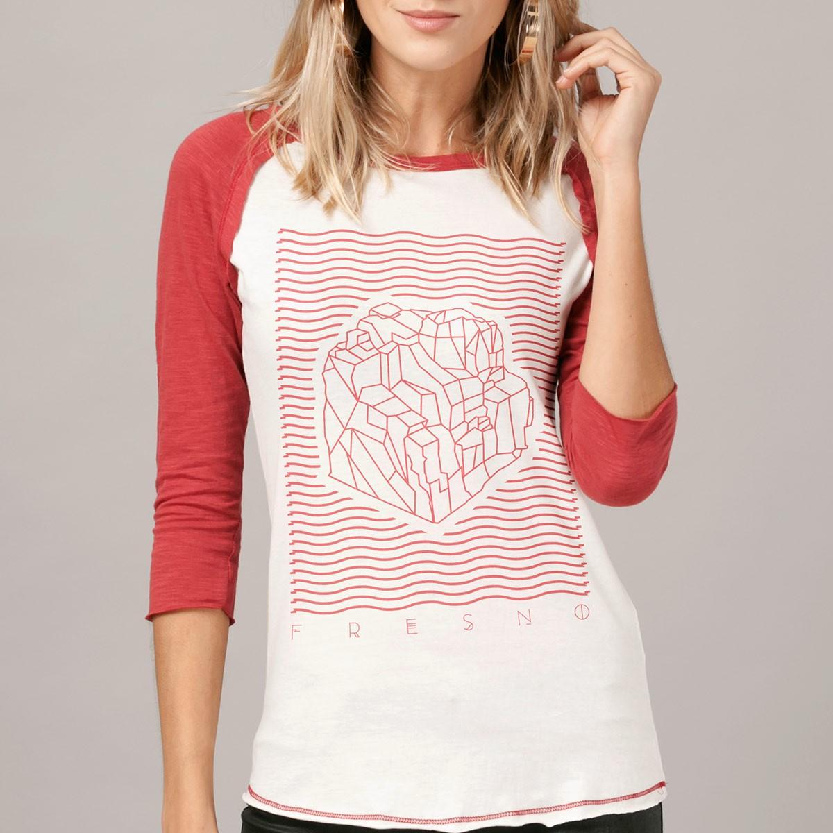 Camiseta Manga Longa Feminina Fresno A Sinfonia de Tudo que Há