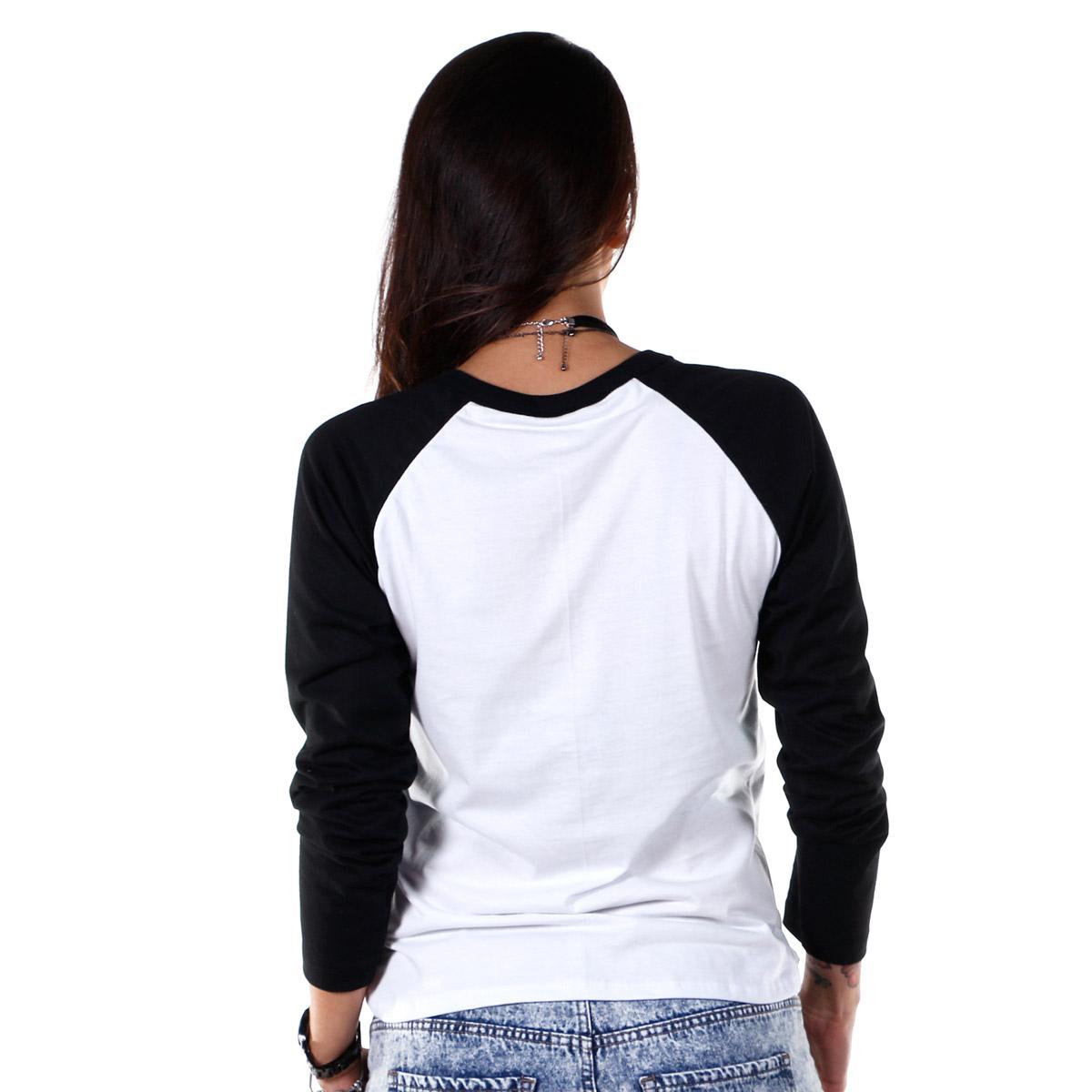 Camiseta Manga Longa Raglan Feminina Luan Santana Acústico