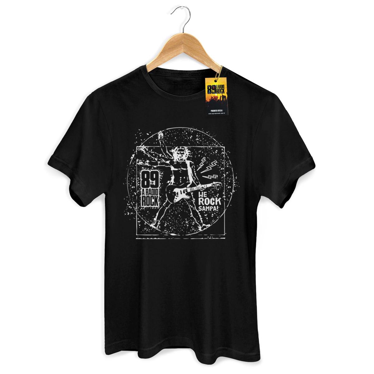 Camiseta Masculina 89 FM A Rádio Rock We Rock Vitrúvio! 2