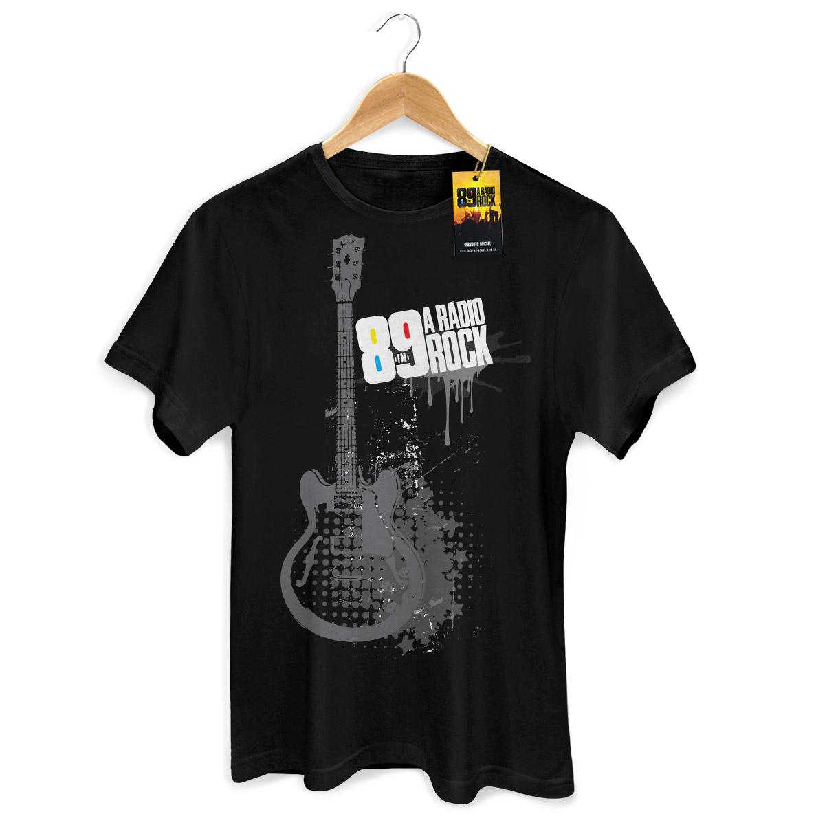 Camiseta Masculina 89 FM - Guitar