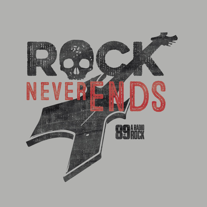 Camiseta Masculina 89FM Never Ends Guitar