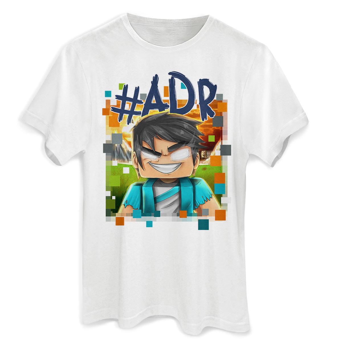 Camiseta Masculina ADR Gamer