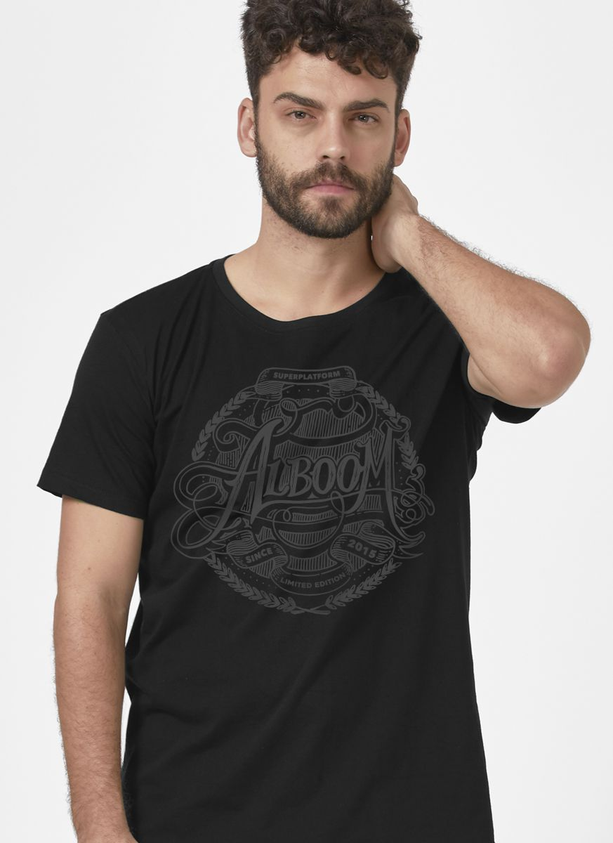 Camiseta Masculina Alboom