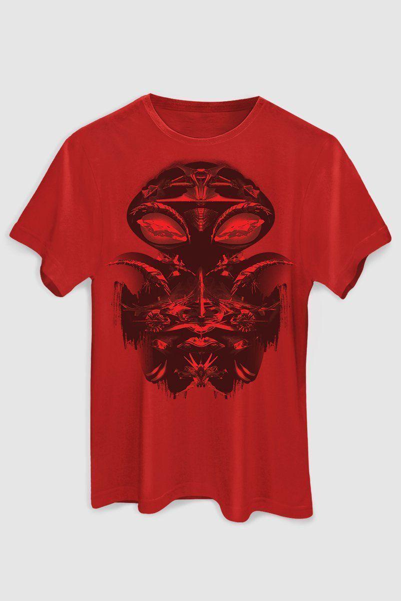 Camiseta Masculina Arraia Negra