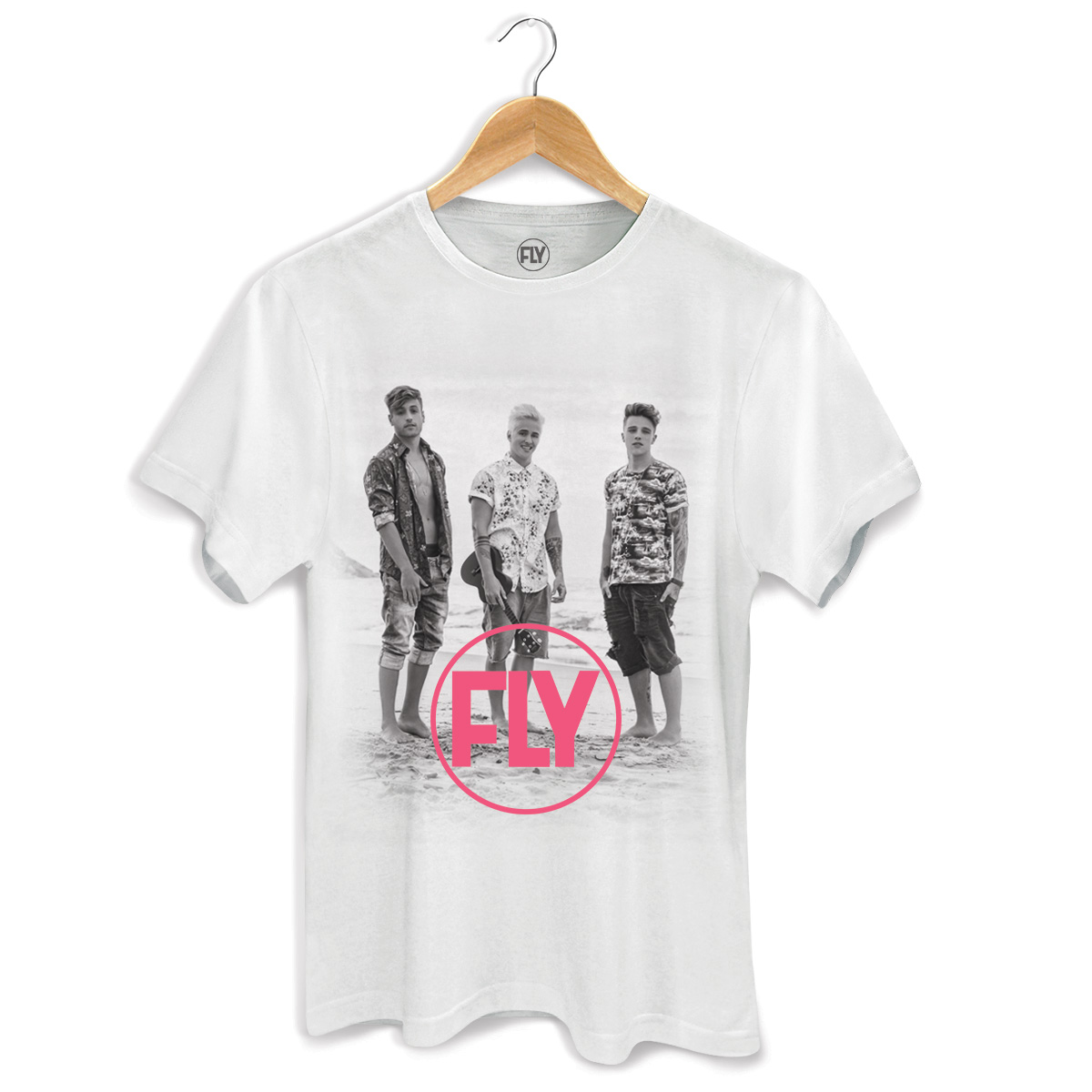 Camiseta Masculina Banda Fly Foto