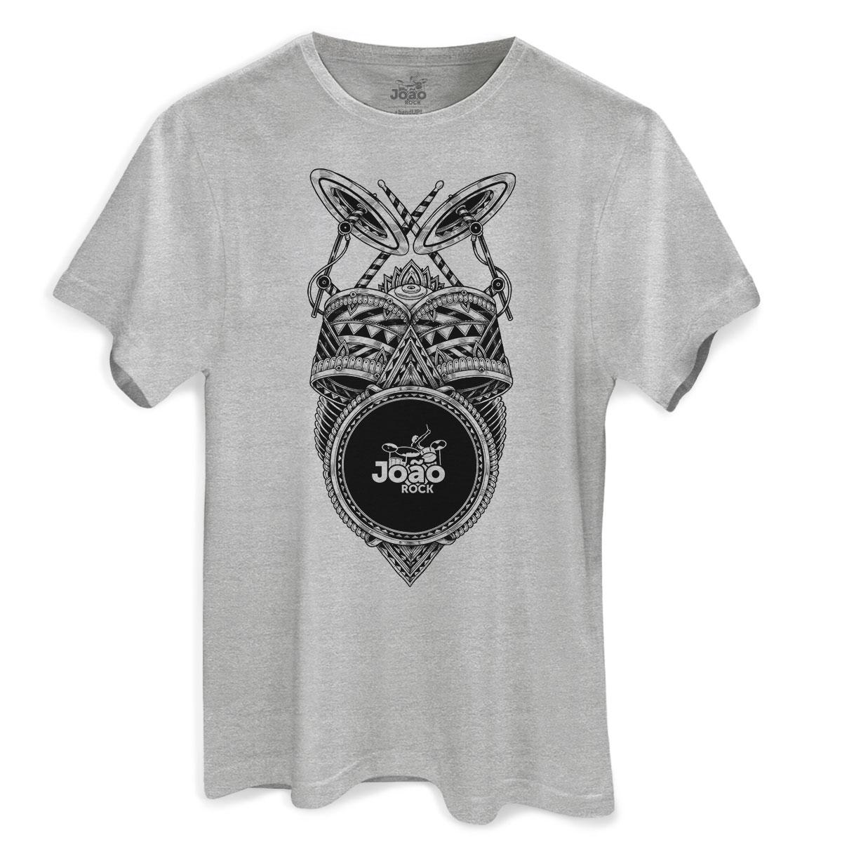Camiseta Masculina Bateria João Rock