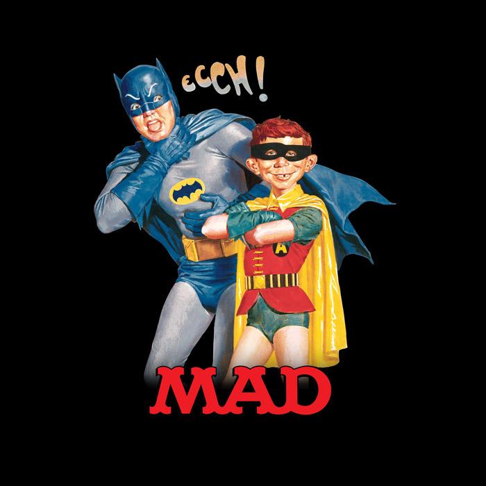 Camiseta Masculina Batman e MAD
