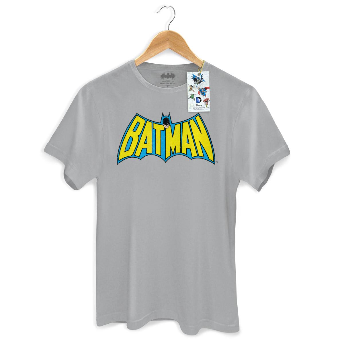 Camiseta Masculina Batman Logo 60s