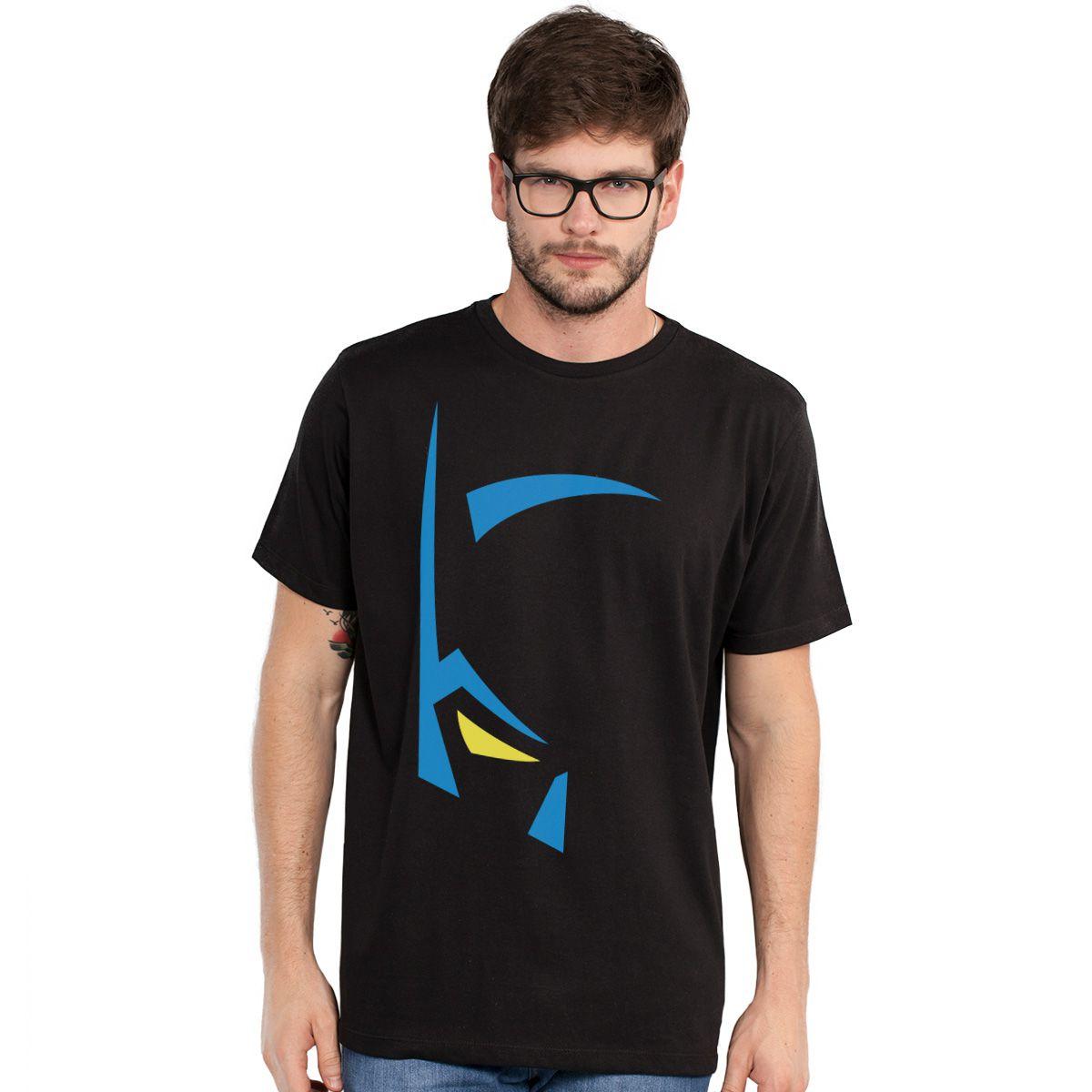 Camiseta Masculina Batman Mask