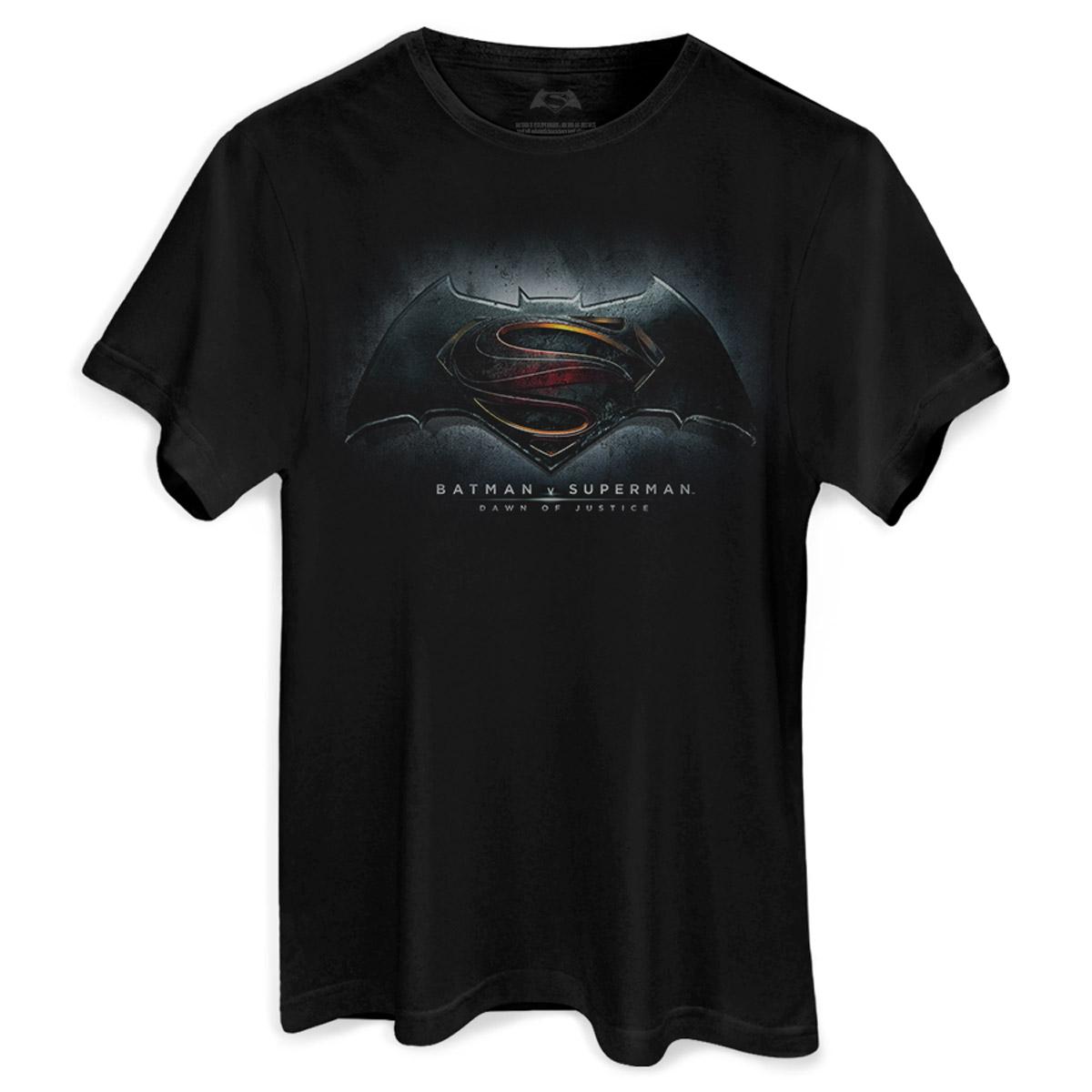Camiseta Masculina Batman VS Superman Dawn of Justice