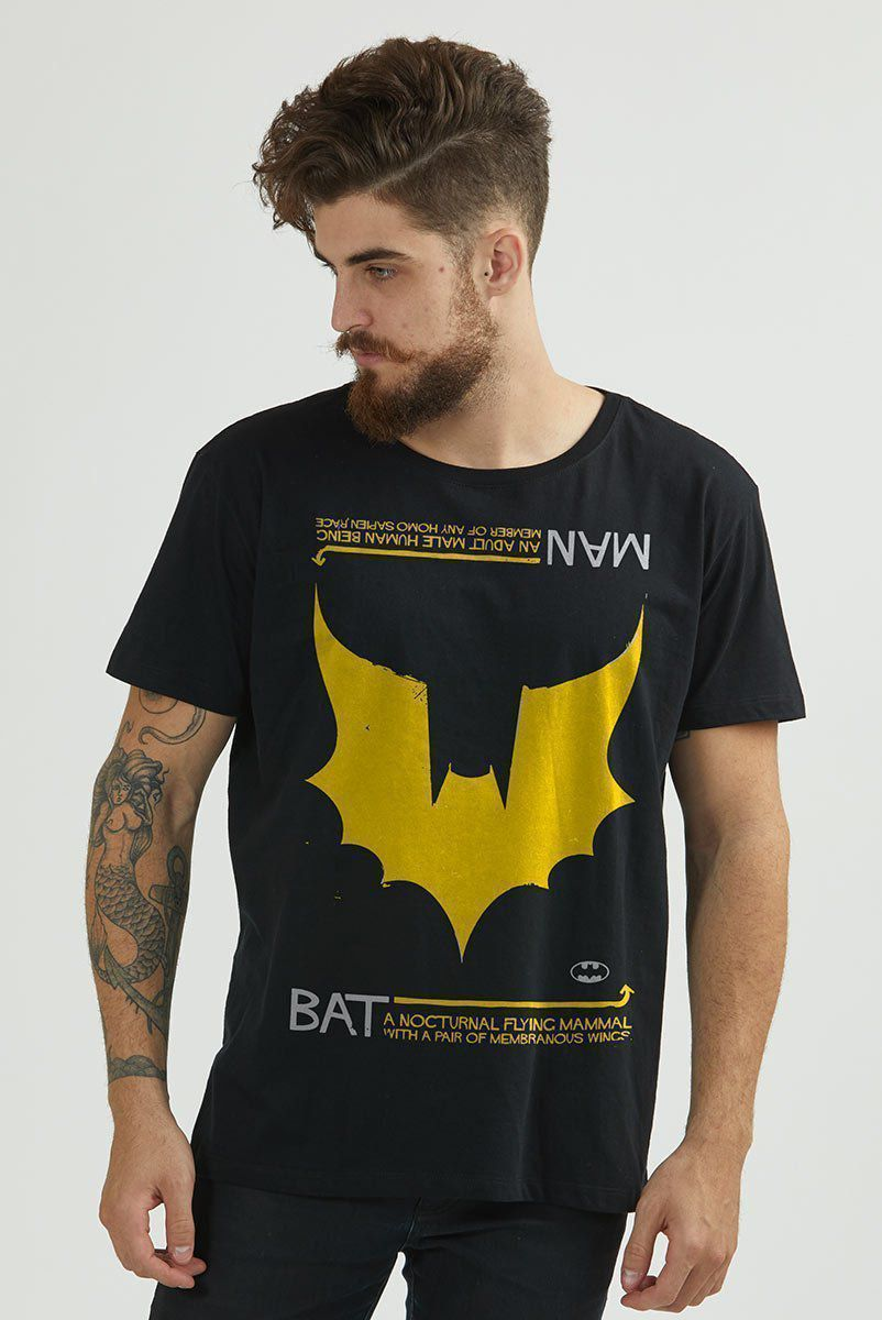 Camiseta Masculina Batman Wings