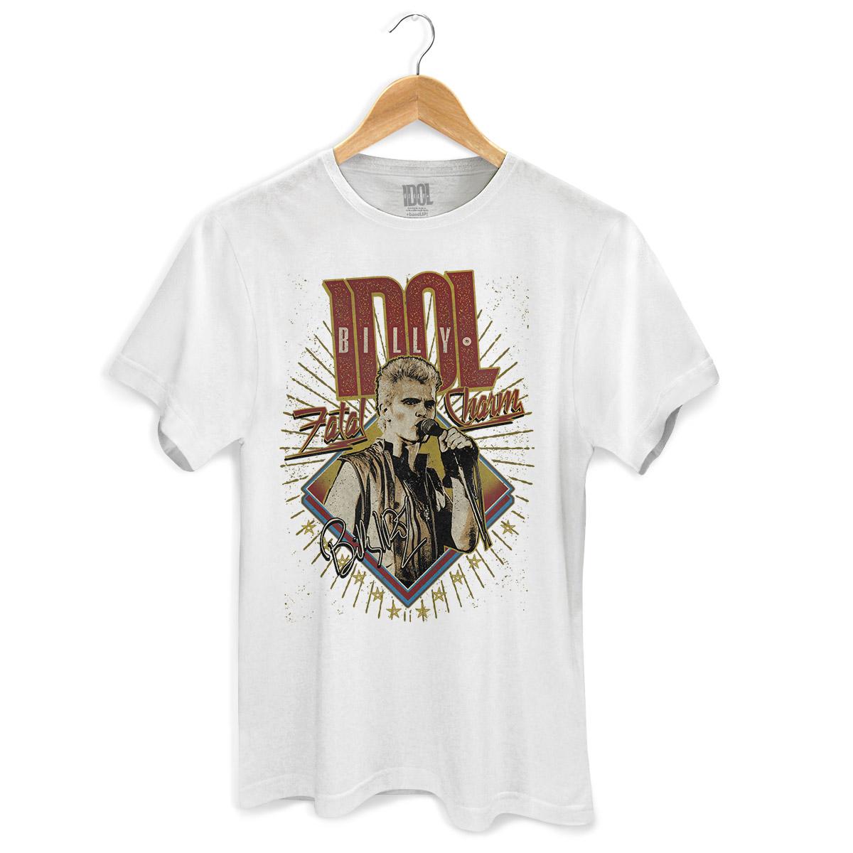 Camiseta Masculina Billy Idol Fatal Charm
