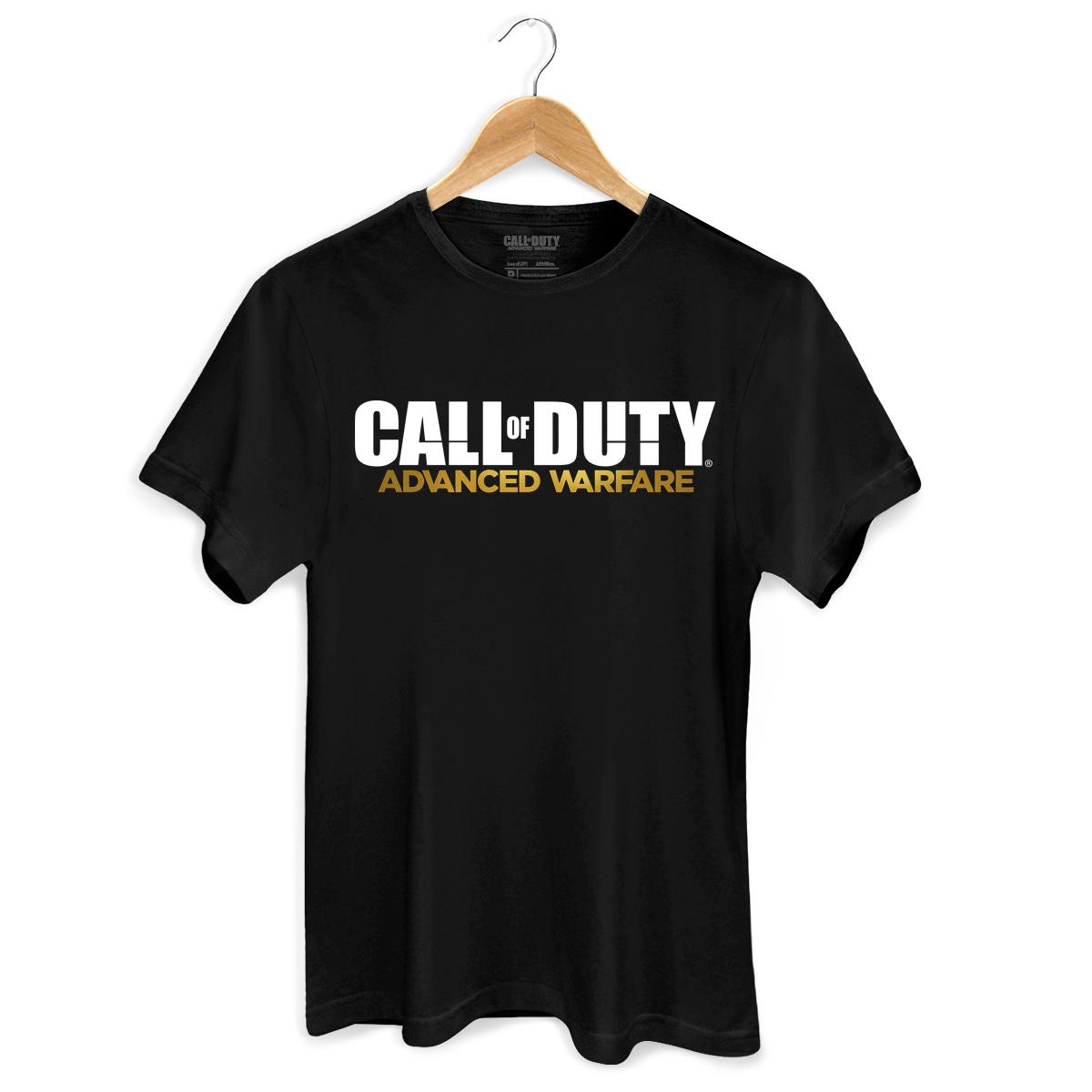 Camiseta Masculina Call Of Duty Logo