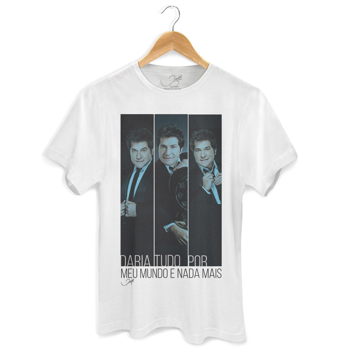 Camiseta Masculina Daniel Meu Mundo Poses 2