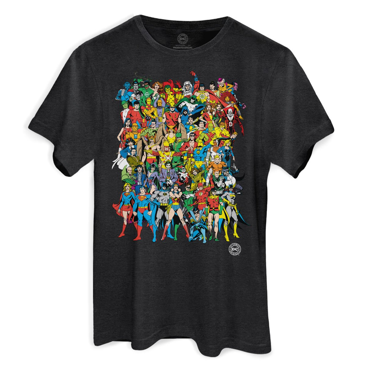 Camiseta Masculina DC Comics Originals Mescla
