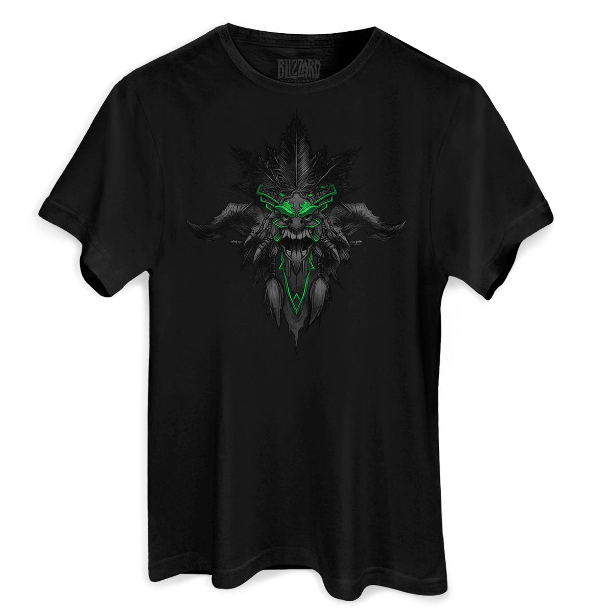 Camiseta Masculina Diablo III Witch Doctor