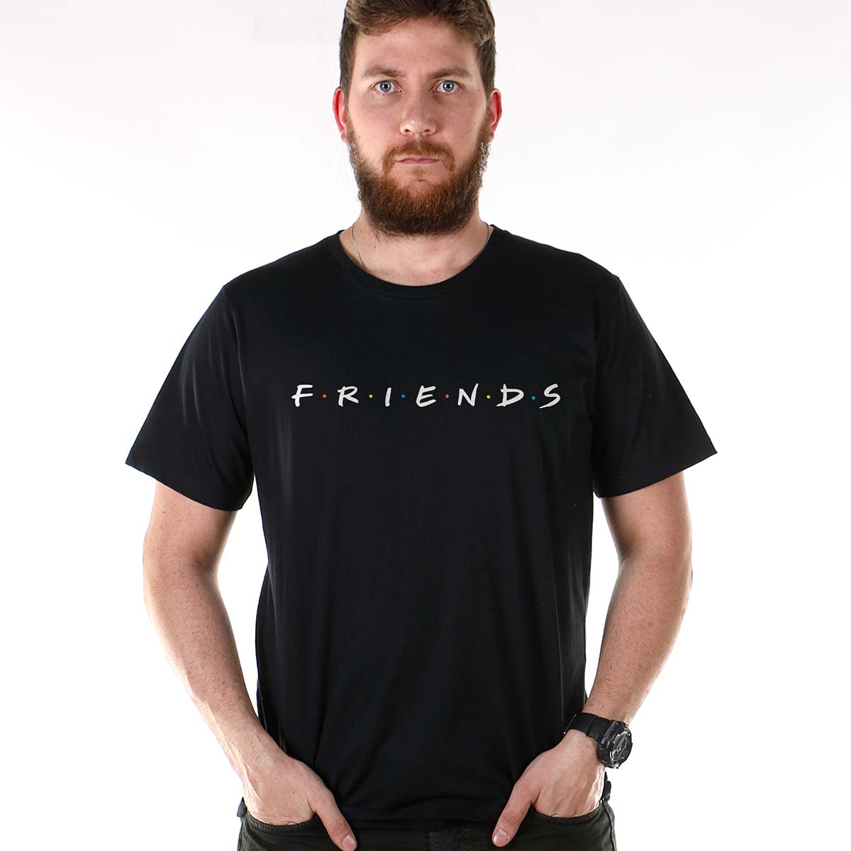 Camiseta Masculina Friends Logo
