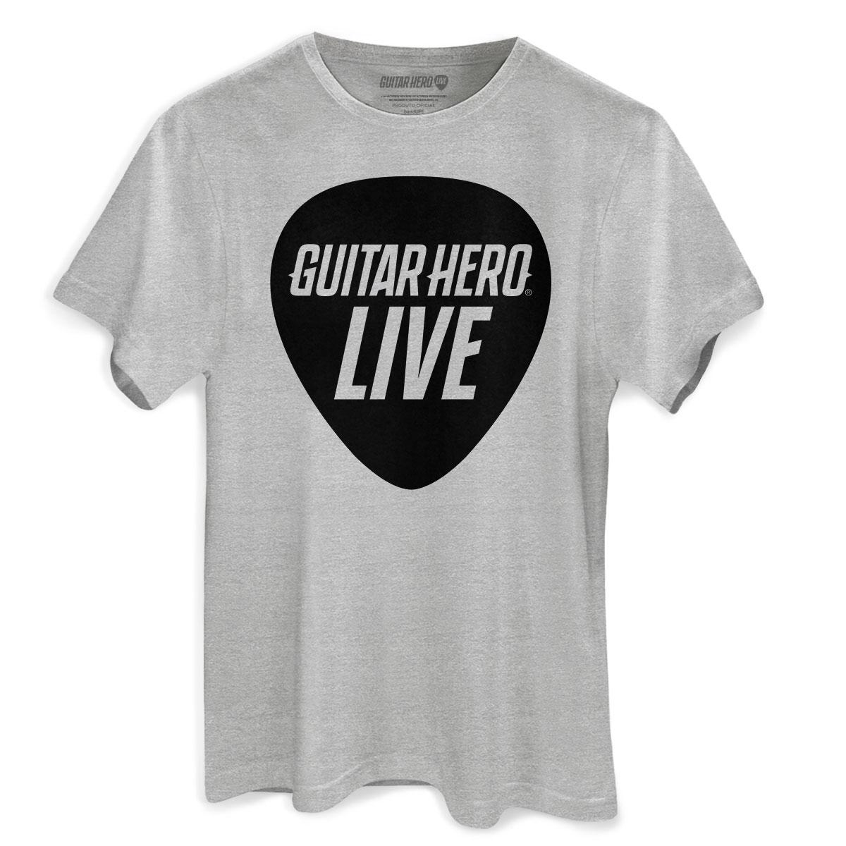 Camiseta Masculina Guitar Hero Palheta 2