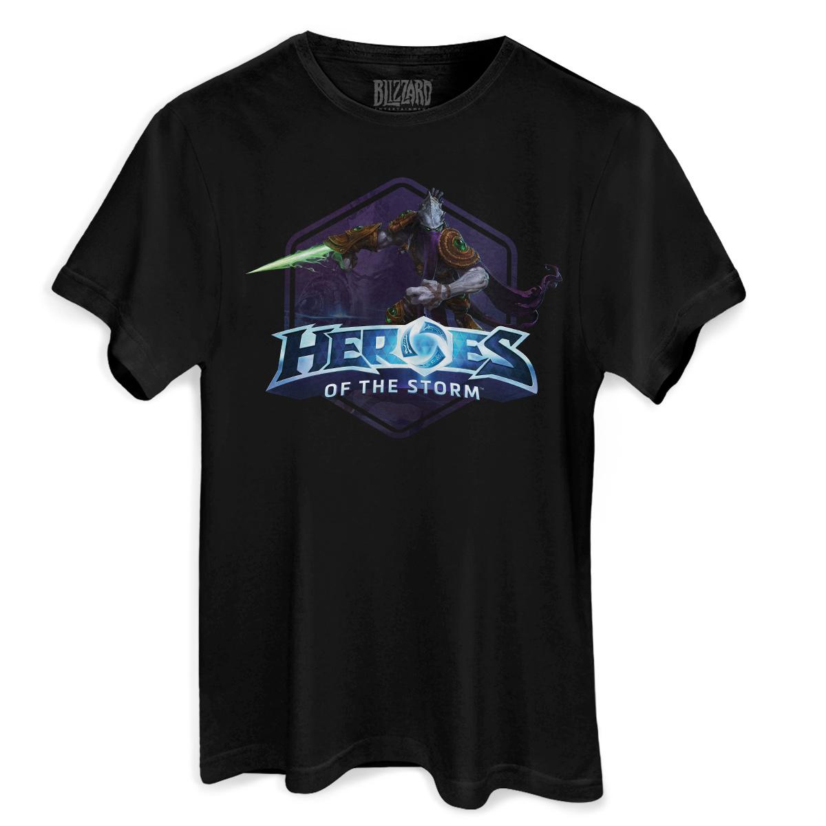 Camiseta Masculina Heroes Of The Storm Zeratul