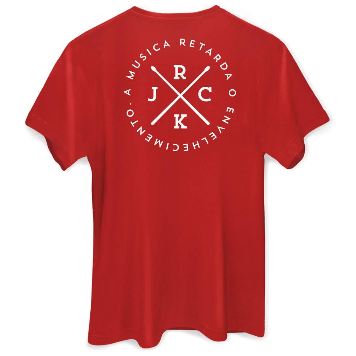 Camiseta Masculina João Rock A Música Retarda o Envelhecimento