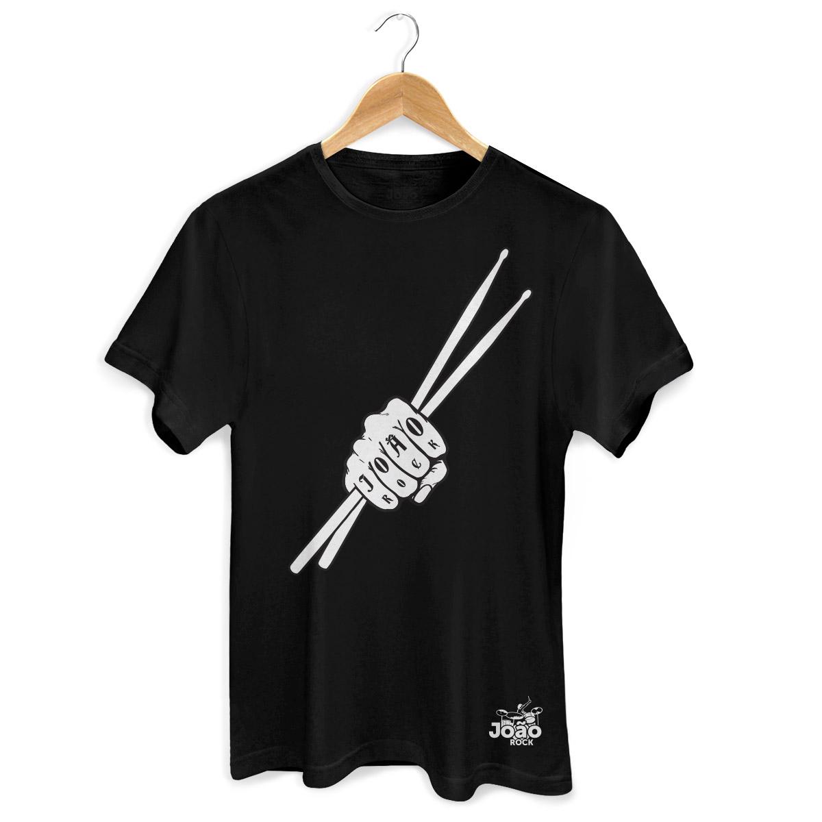 Camiseta Masculina João Rock Baqueta