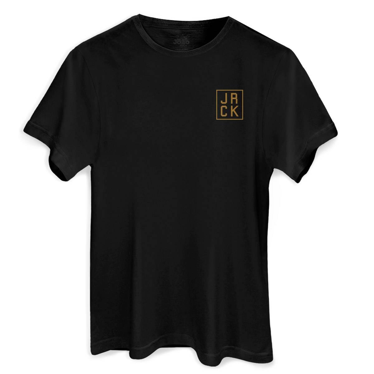 Camiseta Masculina João Rock Fortalecendo o Rock Nacional Desde 02