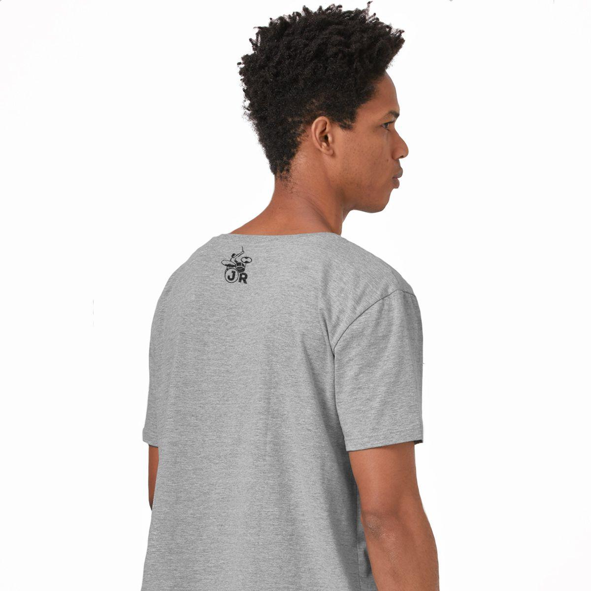 Camiseta Masculina João Rock Música, Paz e Diversão Mod2