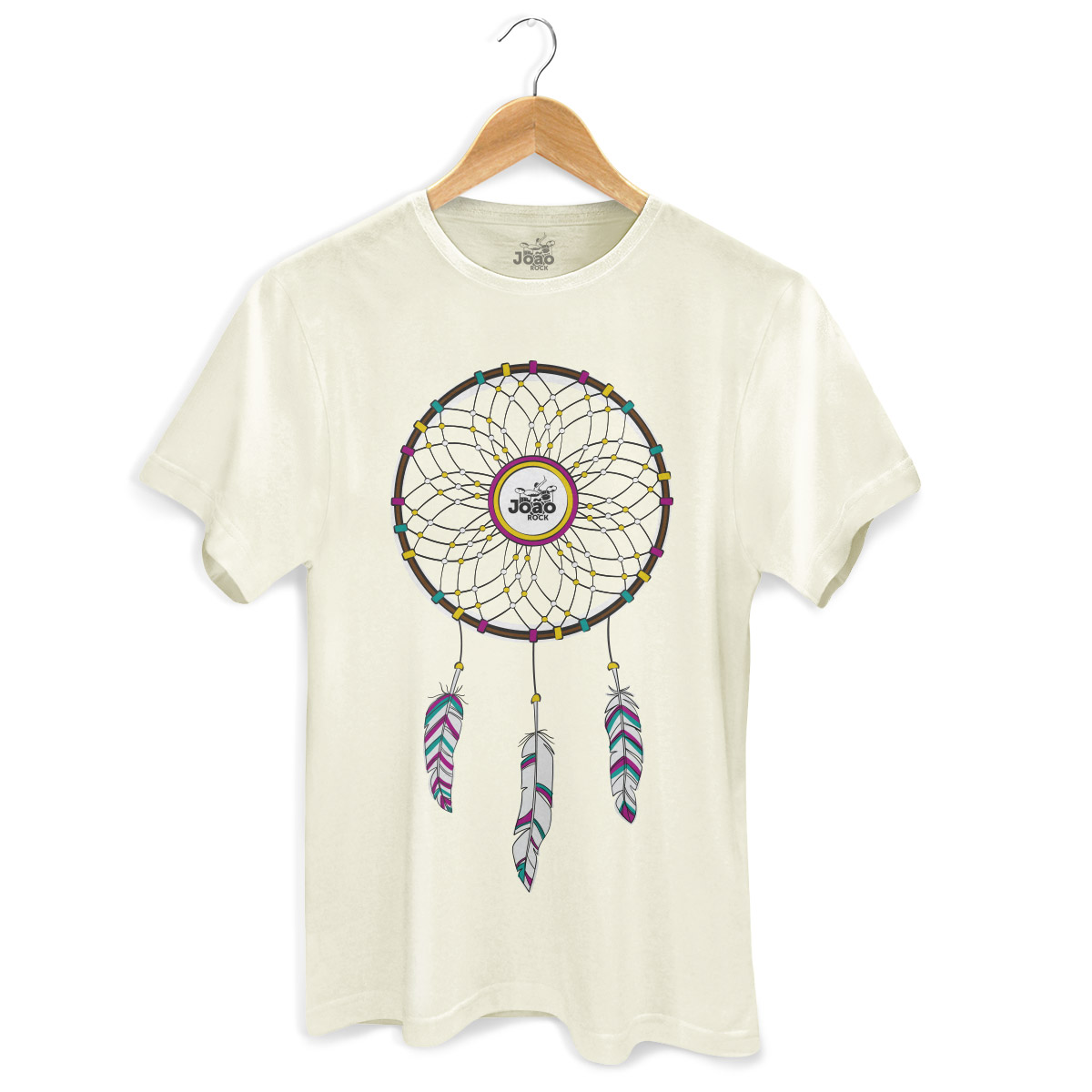 Camiseta Masculina João Rock Sonhos
