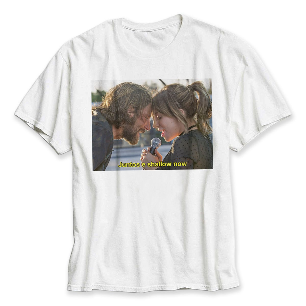 Camiseta Masculina Juntos e Shallow Now