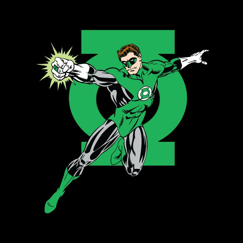 Camiseta Masculina Lanterna Verde da Terra