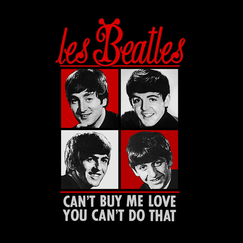 Camiseta Masculina Les Beatles Can´t Buy Me Love