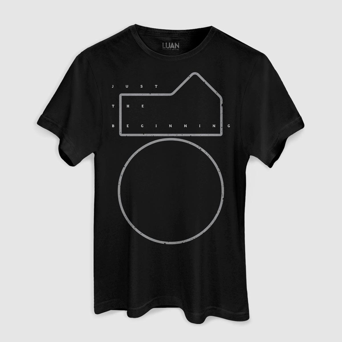Camiseta Masculina Luan Santana Just The Beginning