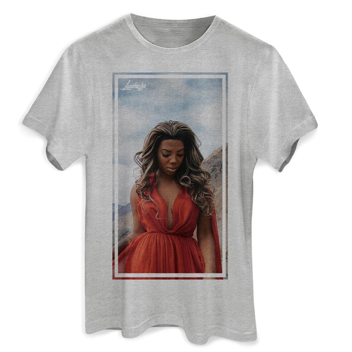 Camiseta Masculina Ludmilla Não Quero Mais