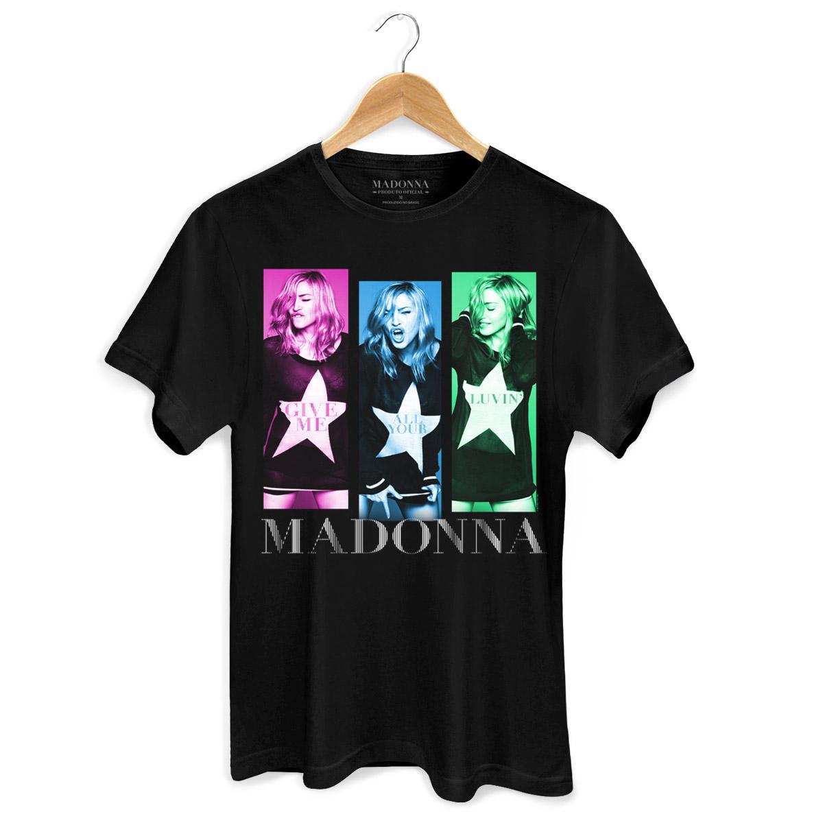 Camiseta Masculina Madonna Gmayl Single