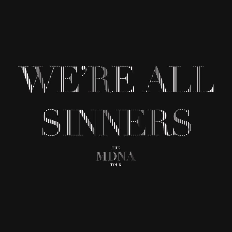 Camiseta Masculina Madonna Sinner