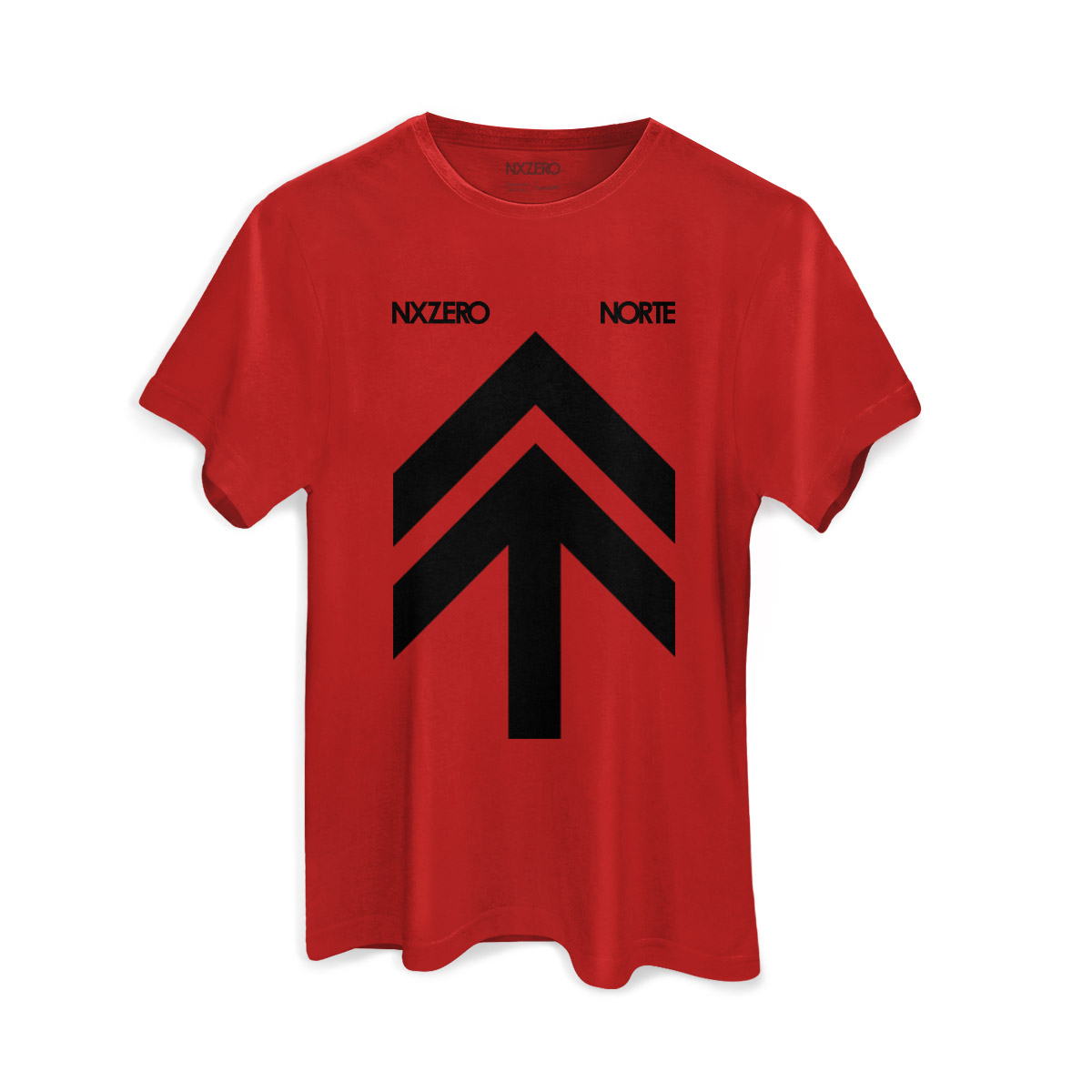Camiseta Masculina NXZero Capa Norte