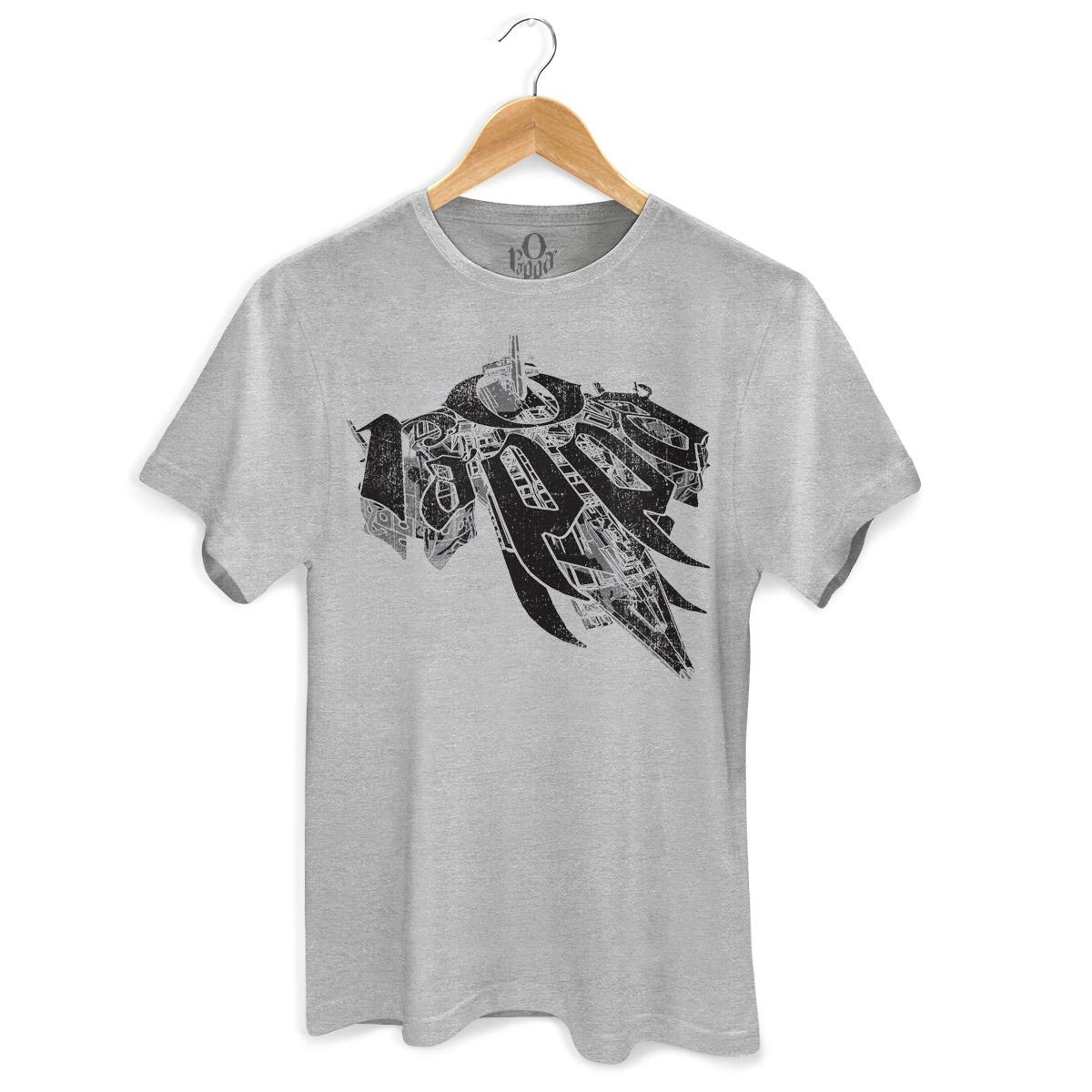 Camiseta Masculina O Rappa Nunca Tem Fim