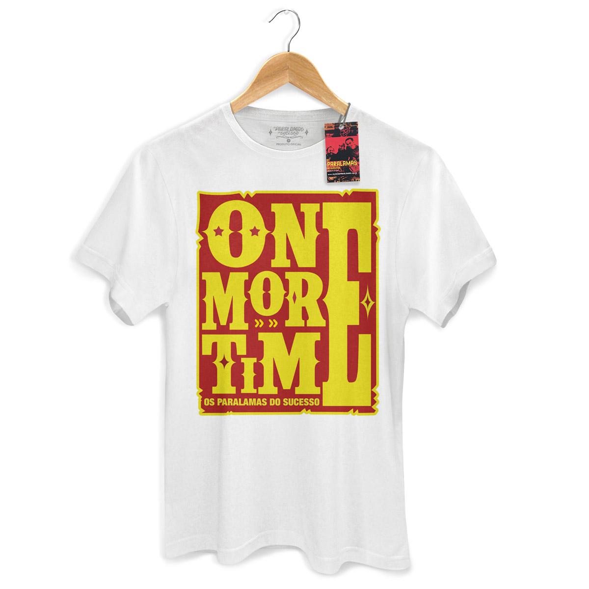 Camiseta Masculina Os Paralamas Do Sucesso One More Time