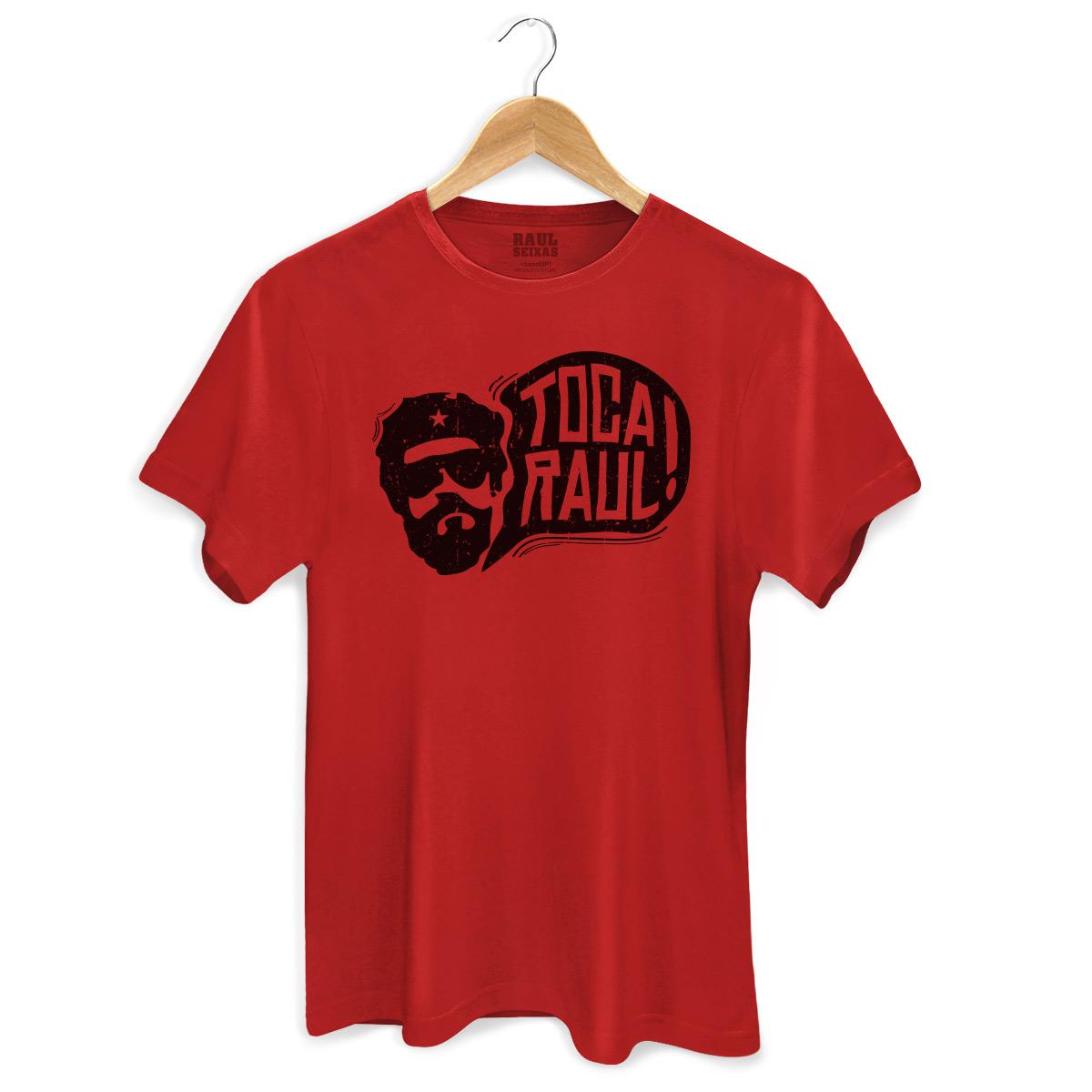 Camiseta Masculina Raul Seixas Toca Raul! 2