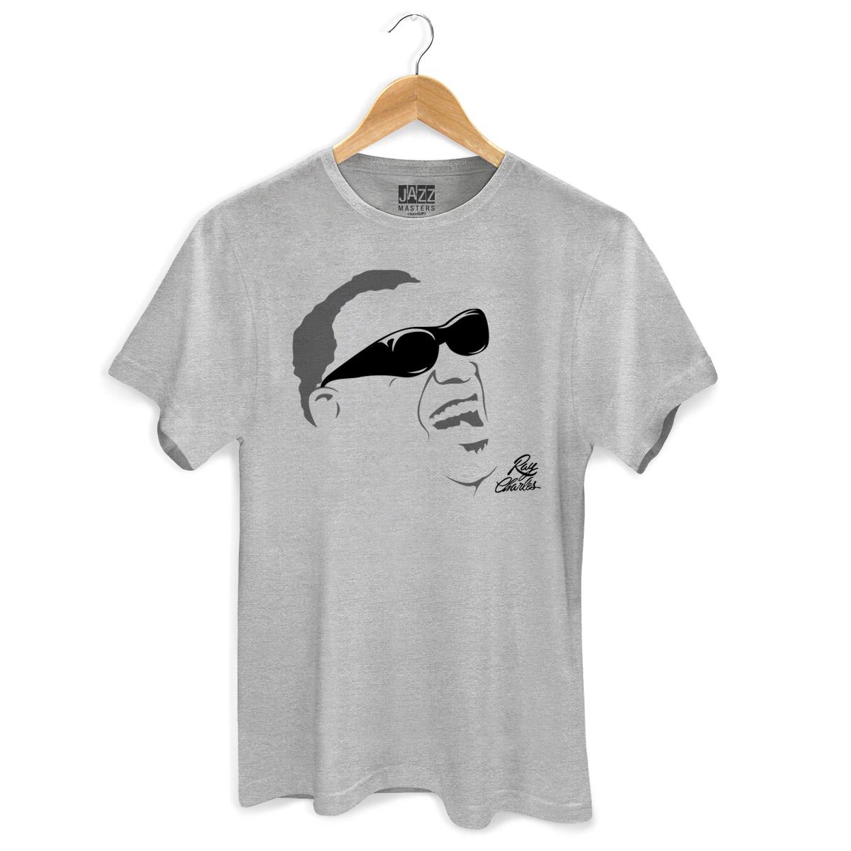 Camiseta Masculina Ray Charles Silhueta