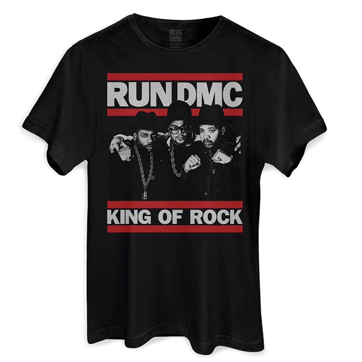 Camiseta Masculina Run-D.M.C. King Of Rock