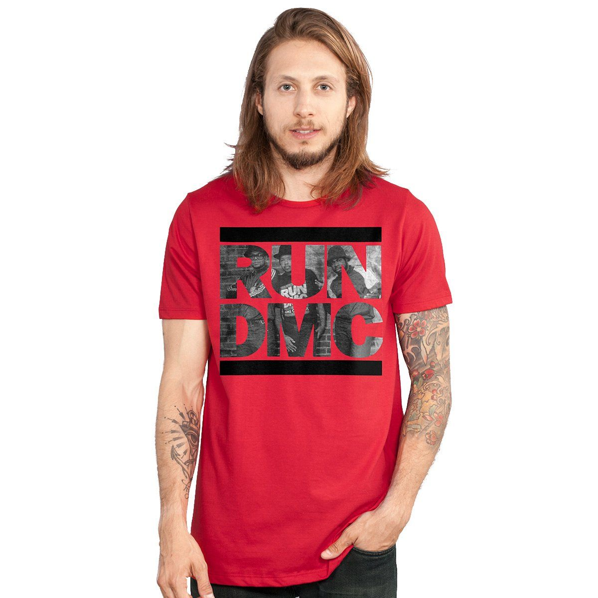 Camiseta Masculina Run-D.M.C. Pictor Face