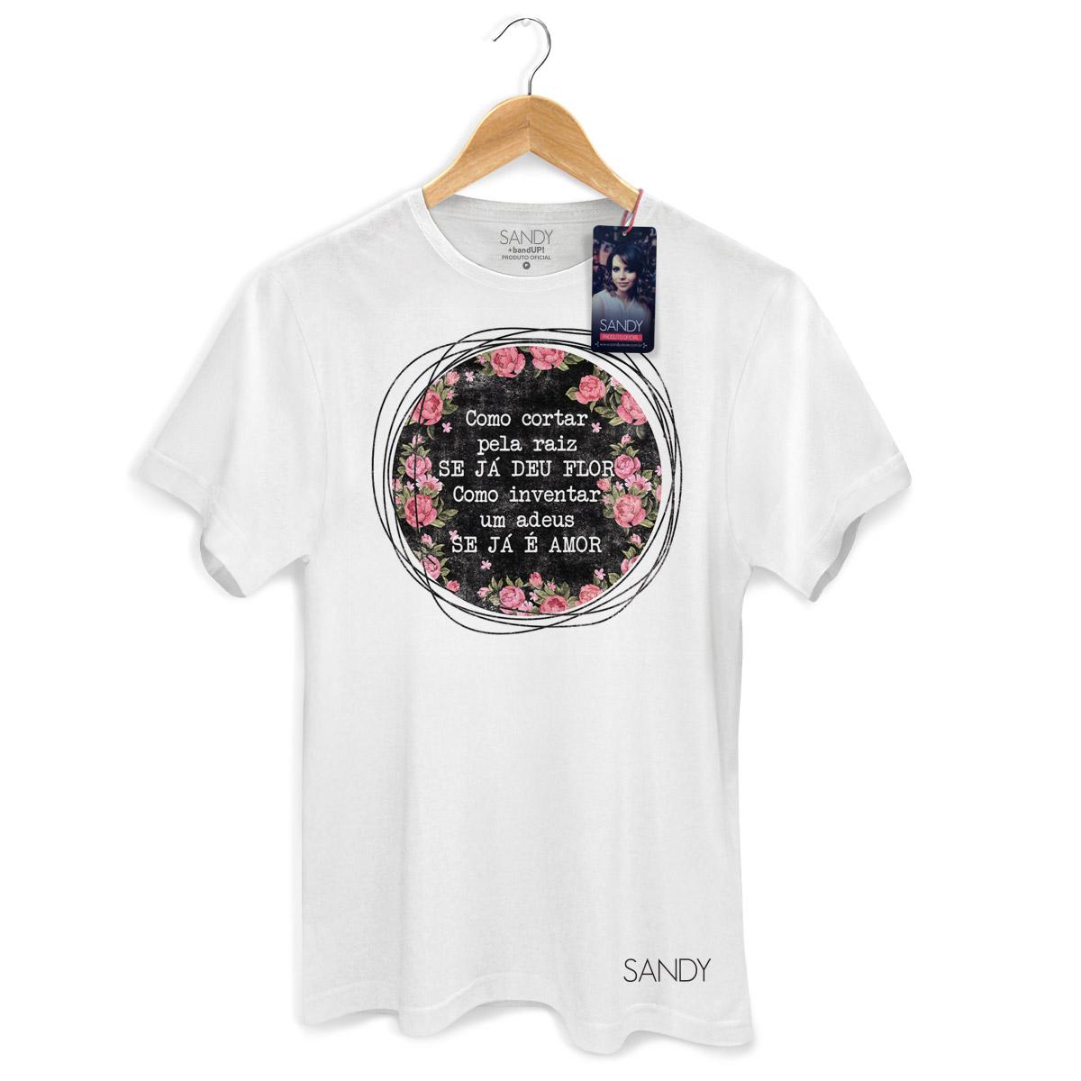 Camiseta Masculina Sandy Como Inventar Um Adeus