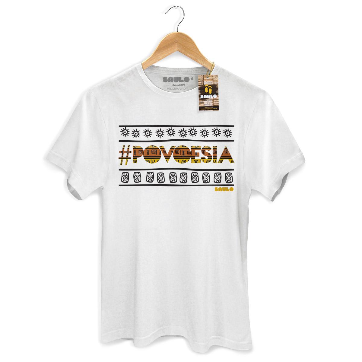 Camiseta Masculina Saulo Povoesia