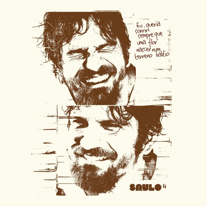 Camiseta Masculina Saulo Sorrir Sempre